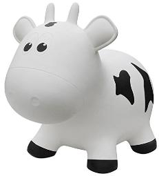 Farm Hoppers Bouncing Inflatable Animals Award Winning Ride On Bouncy Animal Jumper Toy For Children, Bpa, Latex Free Plastic, Easy Use Hand Pump