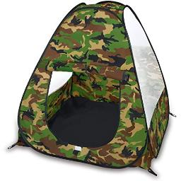 Camouflage Military Pop Up Play Tent Collapsible Indooroutdoor Army Playhouse For Kids