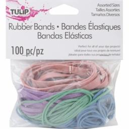 I Love To Create 27703 Tulip Rubber Bands-100/Pkg