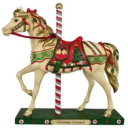 Trail of Painted Ponies Christmas Carousel Figurine | 2012