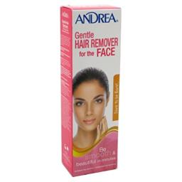 Andrea Gentle Hair Remover for the Face 2 oz (Pack of 6)