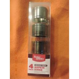 Bronze Finished Napking Rings (Pack of 4)