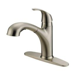 "Oakbrook Kitchen Faucet Low Lead Single Handle 8 "" 1.75 Gpm B. Nickel"