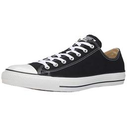 Converse Womens All Star Ox Low Top Lace Up Fashion Sneakers, Black, Size 7.5