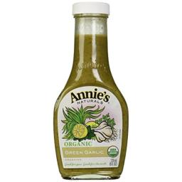 Annie's Naturals Organic Dressing Green Garlic - Case of 6 - 8 fl oz.