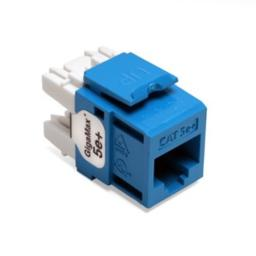 Leviton 5G110-RL5 Blue Category 5e+ Snap in Connector