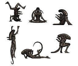 Alien Big chap Mini Figures,Set of 6