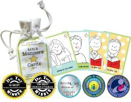 golly gee-pers! Table Manners cards