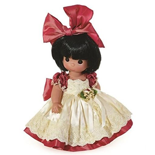Precious Moments Dolls by The Doll Maker, Linda Rick, Lilyana, 12 inch Doll Lilyana is all dressed up in her beautiful gown and red bow ready to meet you.*All vinyl doll created with the finest materials.*Once upon a time there was a doll made just for you. Designed by Linda Rick, The Doll Maker*Officially licensed Precious Moments Doll