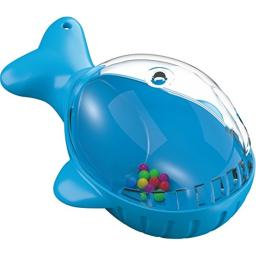 HABA Benni Bath Whale for Bathtub or Pool - Plug his Blowhole and the Water Stops Flowing!