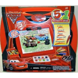 Tara Toy Cars2 5-in-1 Activity Easel