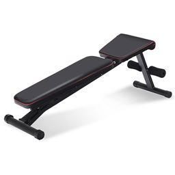 NO Assembly Needed Adjustable Foldable Exercise Bench