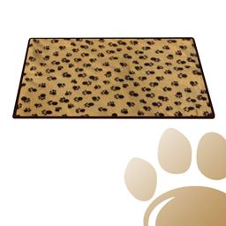 SleepyPaw Dog Kennel Paw Print Sleeping Pad Comfort Mat
