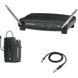 Audio-Technica ATW-901A/G System 9 VHF Wireless Unipak System with AT-GcW Guitar/Instrument Input Cable