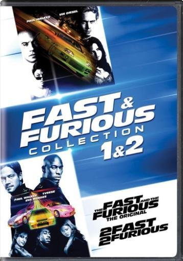 Fast & furious collection 1 & 2 (dvd) (2discs) GLUDDMBEOEZLIJPT
