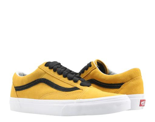Vans Old Skool Tawney Yellow/Black Classic Low Top Sneakers VN0A38G1R0Y