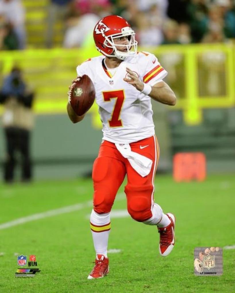 Aaron Murray 2014 Action Photo Print