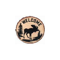 Spoontiques 13258 9 stepping stone  moose