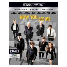 Now you see me (blu-ray/4kuhd) (ws/eng/eng sub/span sub/eng sdh/5.1 dts-hd BR49707