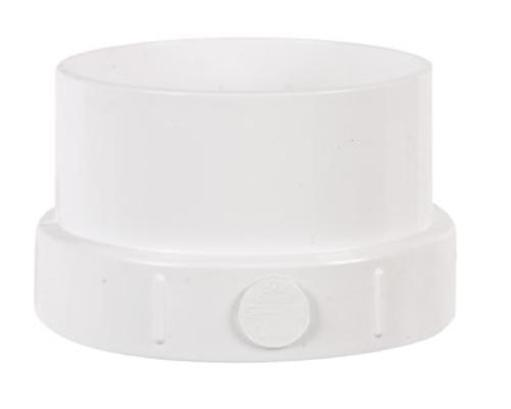 Plastic Trends P1504 Clean-Out Adapter 4 in.