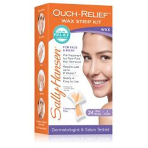 Merchandise 0621277 Sally Hansen Ouch Relief, Face Wax Strips, 24 Count XI5HUM7I63BYZPG0