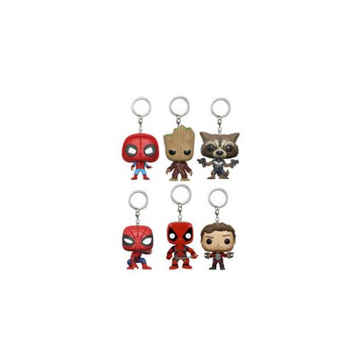 Funko 12377pkast marvel pocket pop keychains assortment JLQDE8HL07EYPGLW