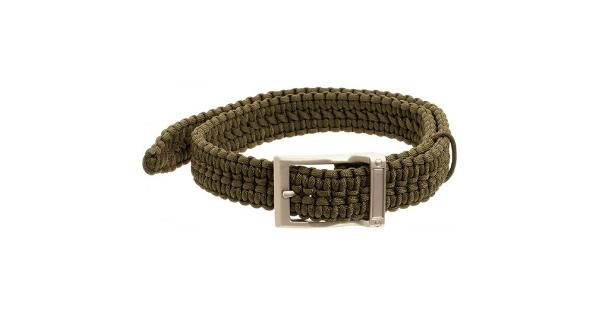Timberline 5109 timberline olive paracord survival belt-small