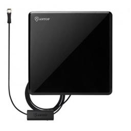 antop-at-207b-piano-black-flat-panel-indoor-tv-antenna-with-inline-smart-pass-amplifier-40-50-mile-range-4k-uhd-ready-26284ec08079bdd2