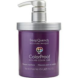 DeepQuench Moisture Masque by ColorProof for Unisex - 16 oz Masque
