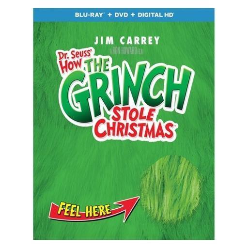 How the grinch stole christmas (blu ray/dvd w/digital/deluxe edition) C89JLTRVKKI2WPZ5