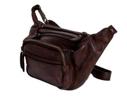 Scully Western Waist Pack Mens Adjustable Waist Strap OS Chocolate 927