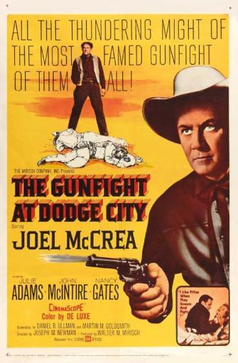 The Gunfight at Dodge City Movie Poster Print (27 x 40) IJGYHQXUOV2ROKEQ