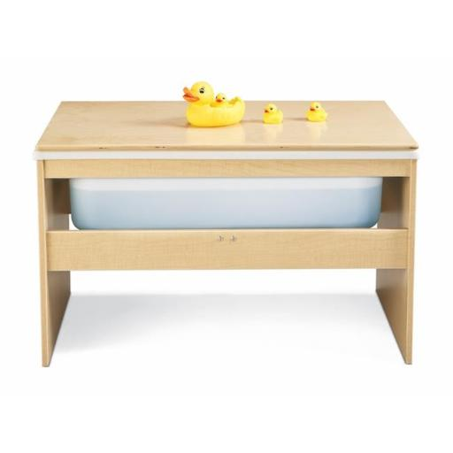Jonti-Craft 7111YR441 Young Time Sensory Table with Lid Sand and Water Table