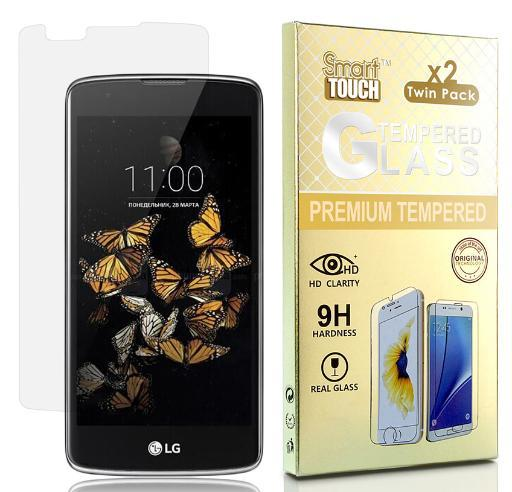 2X HARD TEMPERED GLASS SCREEN PROTECTOR FOR LG TRIBUTE 5, TREASURE, K7, ESCAPE 3 3EH9K9MMXBMCIKP8