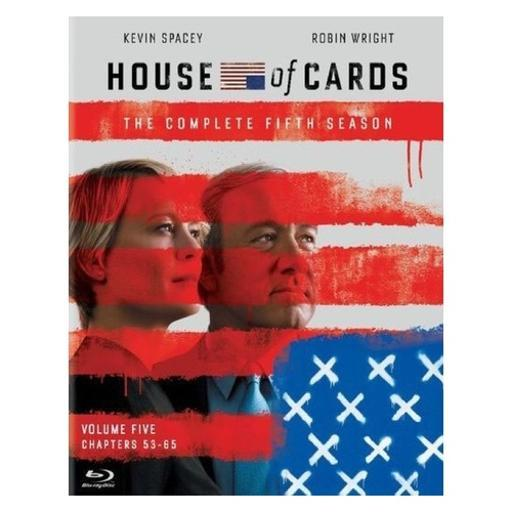House of cards-complete fifth season (blu ray) (uv/4discs) 125NTE1FO06NVH1V