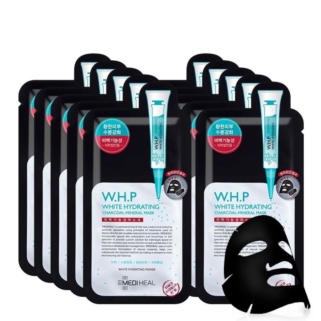 Mediheal W.H.P White Hydrating Black Mask EX. 25ml 10pcs