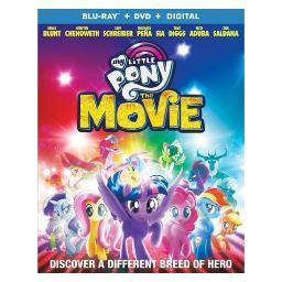 My little pony-movie (blu ray/dvd w/dig) (ws/eng/eng sub/sp sub/eng sdh/5.1 BR53649