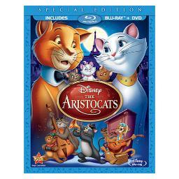 Aristocats-special edition (blu-ray/dvd/2 disc/ws) br-pkg BR108786
