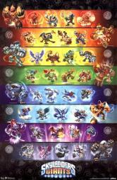 Skylanders Giants - Group Poster Print TIARP5807