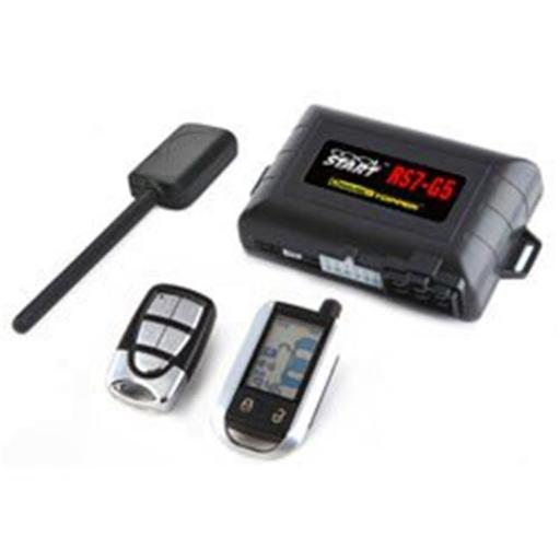 2-Way FM/FM LCD Remote Start and Keyless Entry System with Trunk Pop