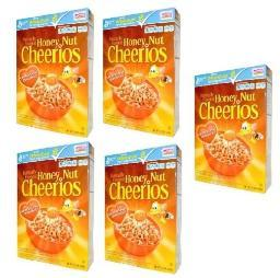 Honey Nut Cheerios 5 Box Pack