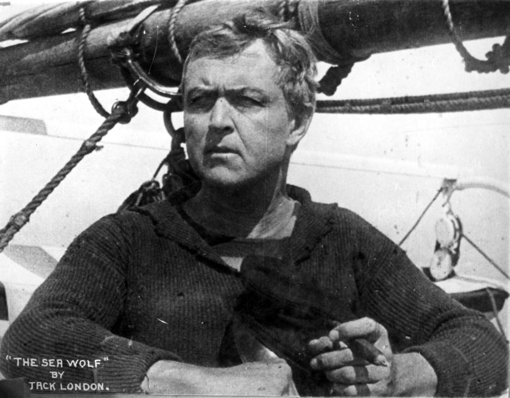A publicity still of Hobart Bosworth in The Sea Wolf Photo Print