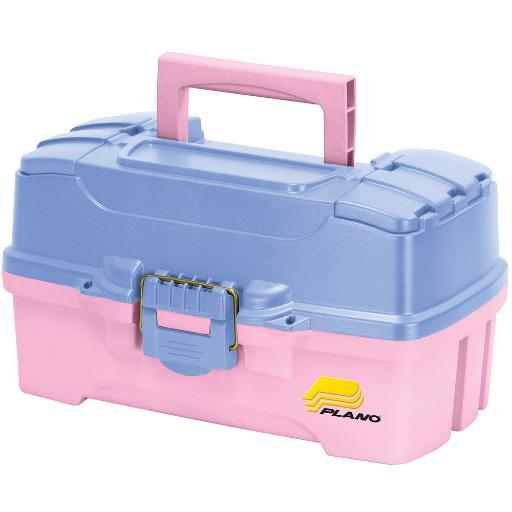 Plano two tray tackle box with dual top access