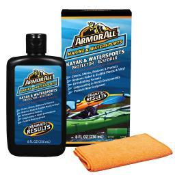 Armorall marine and watersports armor all kayak restorer & protector w/bottle &  12822