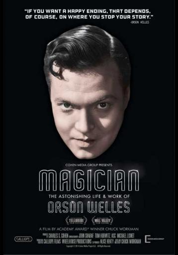 Magician The Astonishing Life and Work of Orson Welles Movie Poster (11 x 17) 1055010