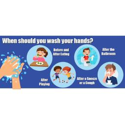 Flipside products when to wash your hands floor