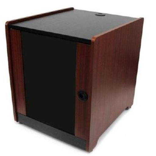 Store It Equipment Discreetly In The Office, With A Stylish Wood-finished Server