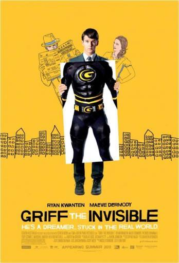 Griff the Invisible Movie Poster Print (27 x 40) JT6FZP3M6P2YDSRC
