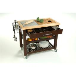Chris & Chris JET1224 Pro Chef Kitchen Work Station