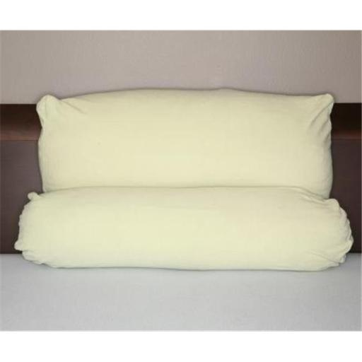 Living Health Products MLTPP-001-01 SGR PA Multi Position Pillow w/ extra Green Micro Fiber Cover